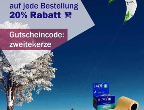 2. Advent 2016 Rabattaktion. 20% auf jede Bestellung